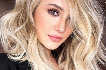 Awesome Blonde Lob Haircuts for Girls