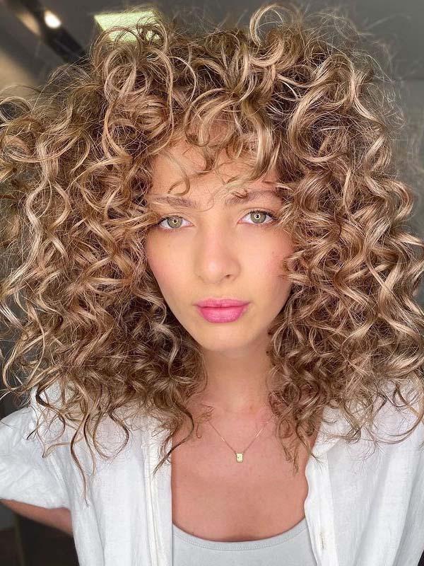 Modern Soft Curls for Girls
