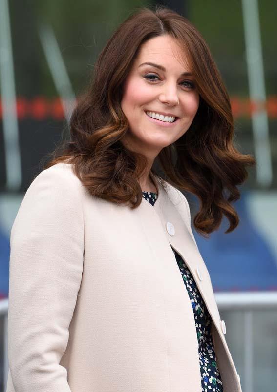 Kate Middleton's vat Curls