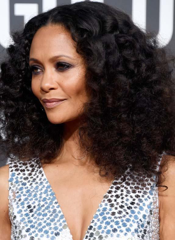 Thandie Newton's Voluminous Curls