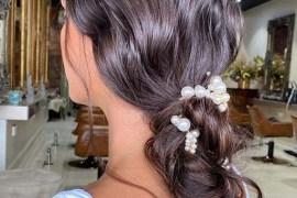 Soft bridal Updo Hair Styles