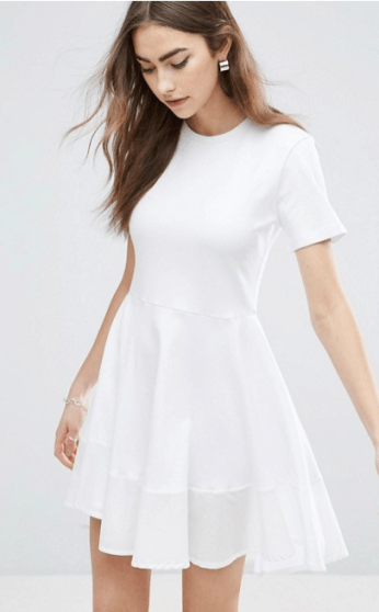 ASOS Knit Skater Dress