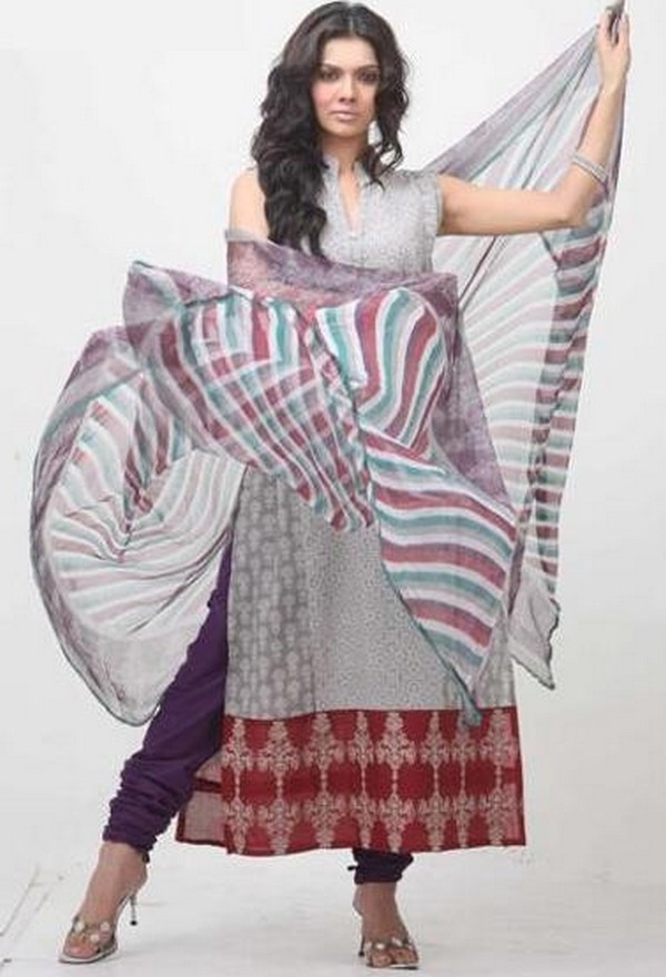 Latest Choori Pajama With Long Shirts 2014 For Women