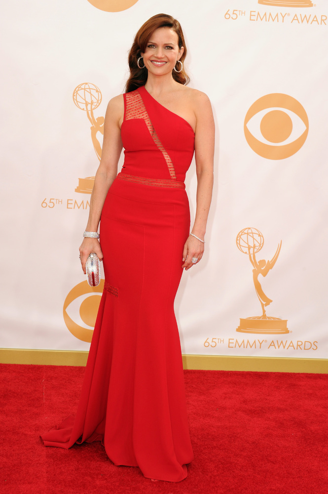 Carla Gugino (Photo: Getty Images and Huff Post Style)