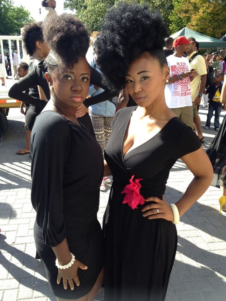 Project Runway Natural Hair Style with Natural Hollywood!