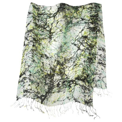 Target printed scarf - this is a print that you will be sure to stand out in!