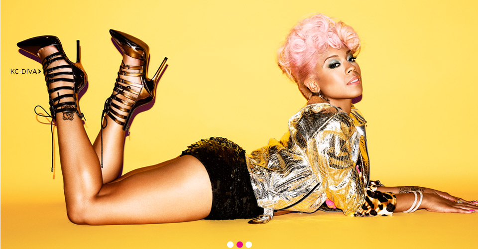 Keyshia Cole and Steve Madden Collaboration