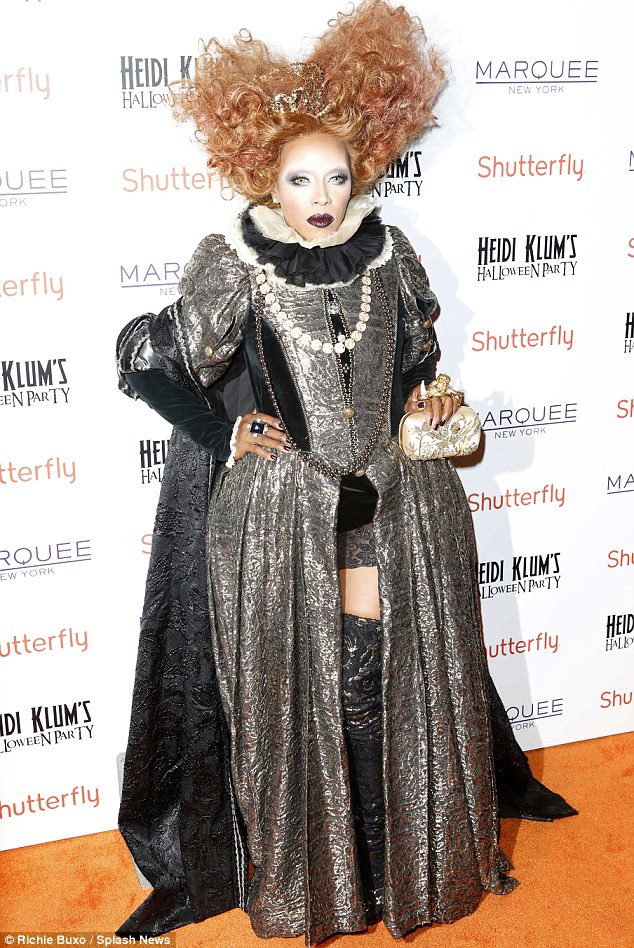 Celebrity Stylist June Ambrose as Elizabeth I