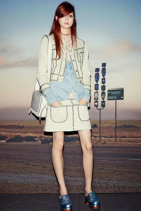 Coach_skirt and jacket