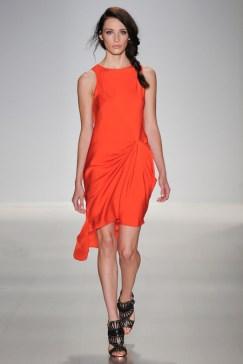 MW Orange Dress