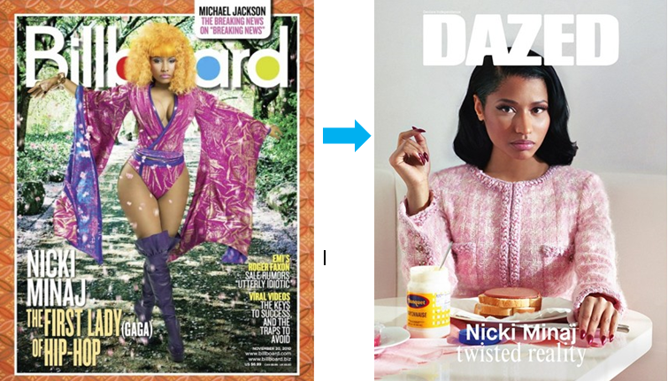 Nicki Minaj Fashion before-after-Style Stamped