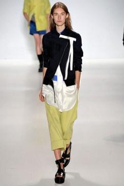Richard Chai Love_Asymetrical Hem Jacket