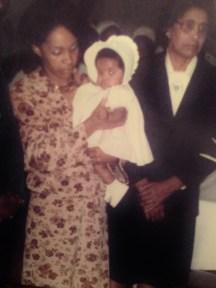 Mom and Grandma at my Christening