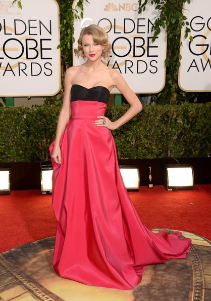 Taylor+Swift-GoldenGlobes2014-JasonMerritt-In-CarolinaHerrera-Style-Stamped