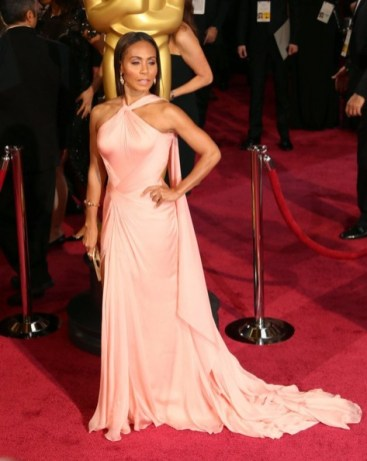 Jada Pinkett Smith at the 86th Academy Awards