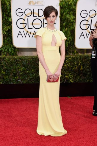 elettra-rossellini-wiedemann-golden-globes-2015- Frazer Harrison-Getty