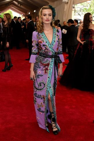 Georgia May Jagger in Gucci Photo: Getty