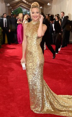 Kate Hudson in Michael Kors Photo: Getty Images