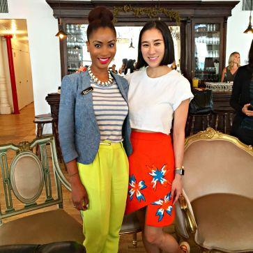Yana B. and Eva Chen