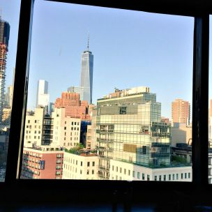 View from hotel, Freedom Tower