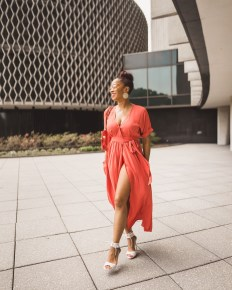 Yana B Wrap Dress 6