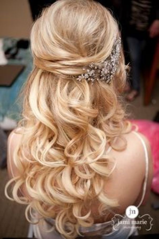 Admirable 2015 Prom Hairstyles Half Up Half Down Prom Hairstyles Styles Short Hairstyles For Black Women Fulllsitofus