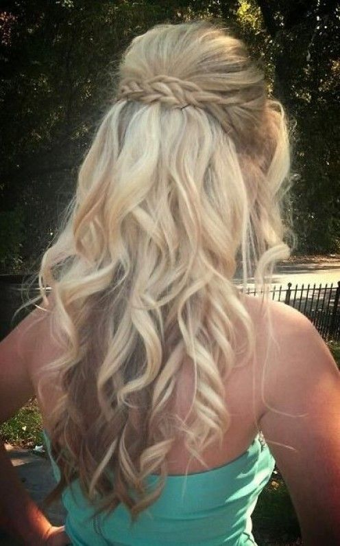 2015 Prom Hairstyles Half Up Half Down Prom Hairstyles Styles That Work For Teens