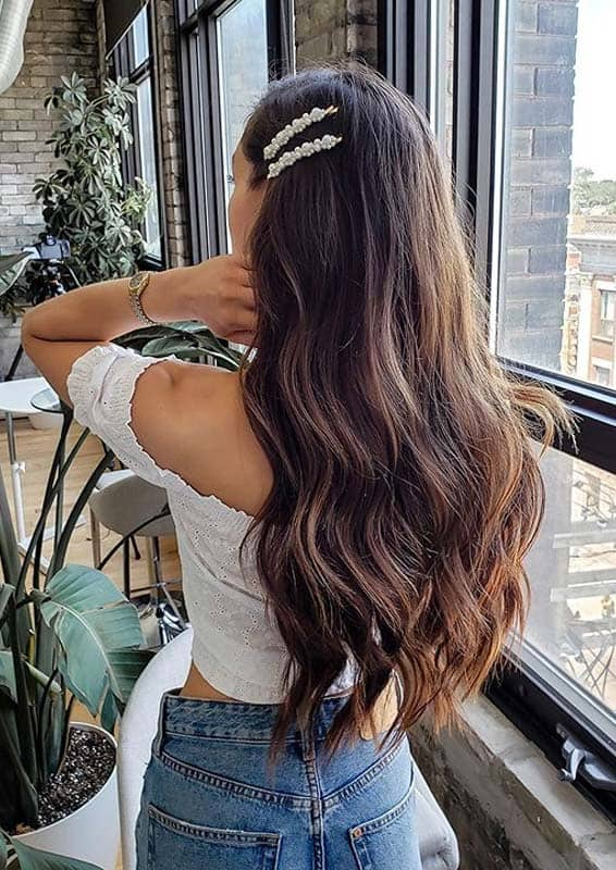 Chocolate Brown Hair Color Shades for Women in 2020