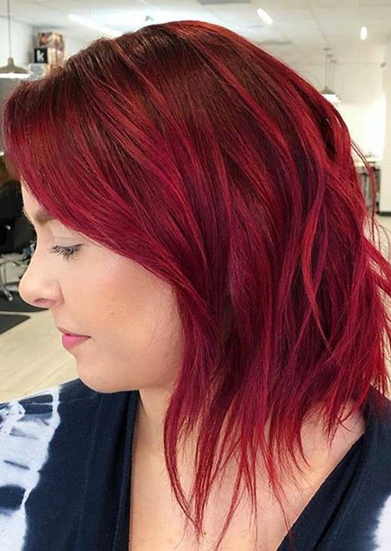 Fantastic Red Hair Color Shades for Short Hair in Year 2020