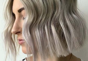 Ash Grey Blunt Cut Bob Hair Looks for Girls in 2020