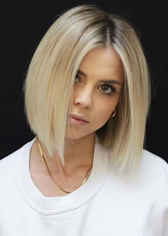 Perfect Blonde Bob Haircut Styles to Show Off in 2020