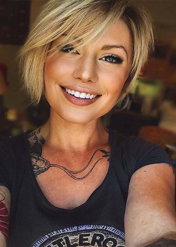 Awesome Short Haircuts to Show Off for Modern Look