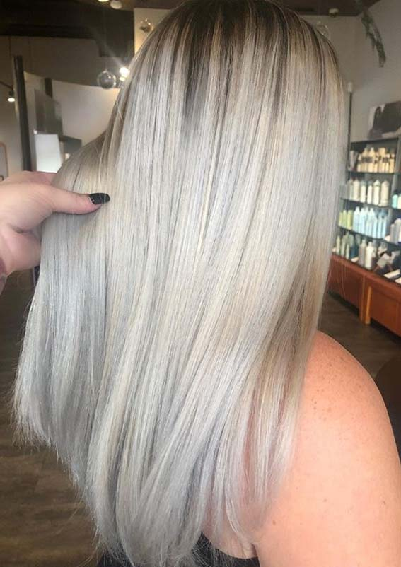 Ice Blonde Hair Color Trends for Ladies to Sport in 2020