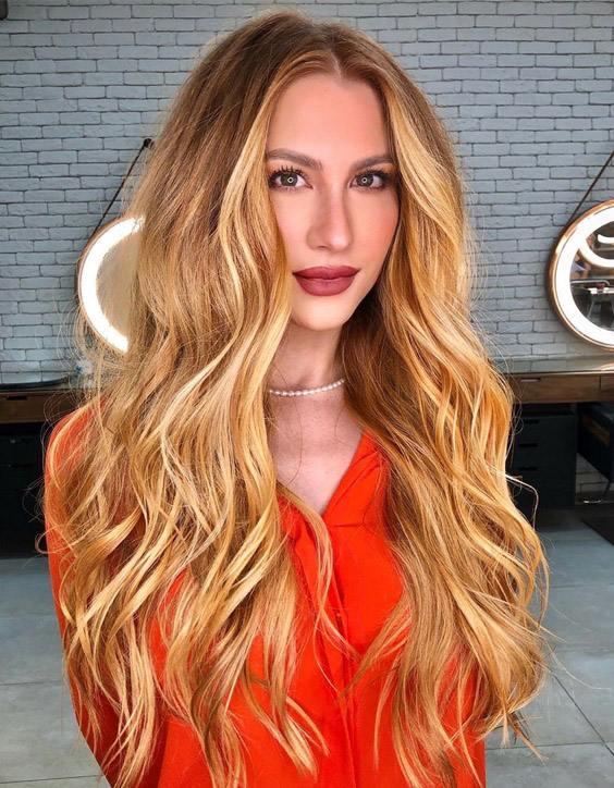 Adorable & Charming Brunette Hair Color for Long Hair