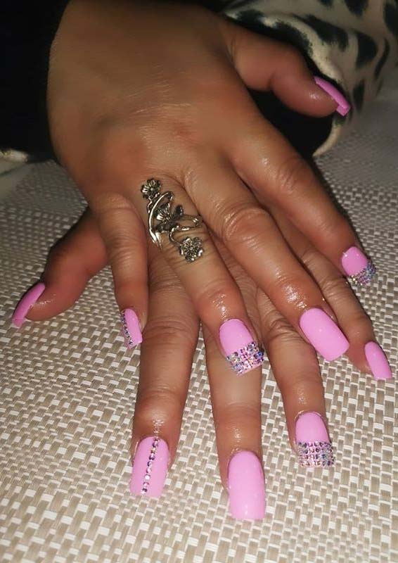 Bright Pink Nails Designs You Must Wear in Year 2020