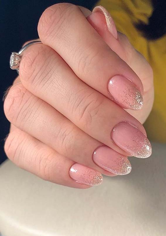 Cutest Glitter Pink Nail Arts and Images for Girls in 2020