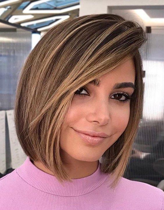 Fresh Look of Lob & Bob Haircut for Teenage Girls