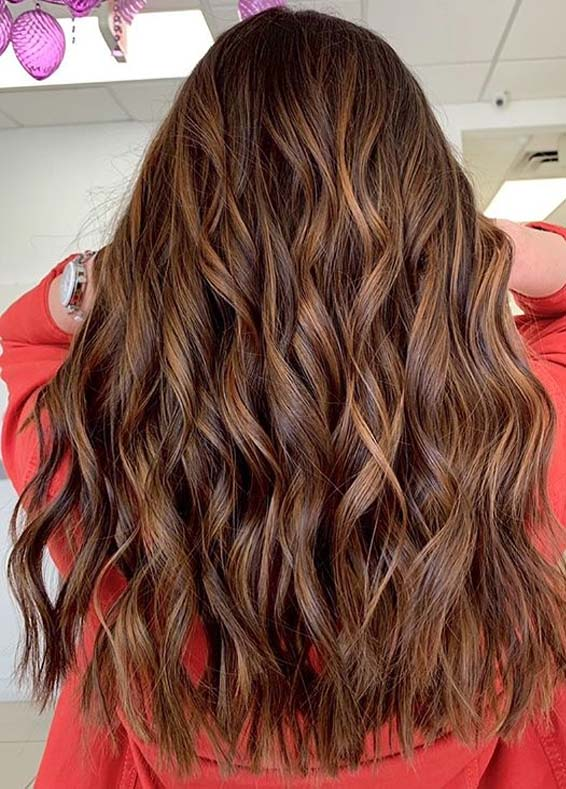 Long Waves Hair Looks and Hair Color Ideas You Must Try in 2020
