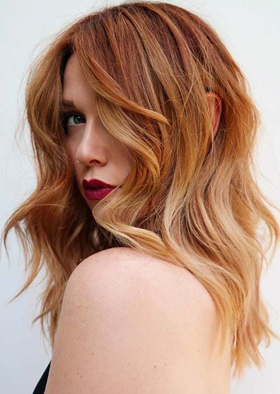 Awesome Ginger Hair Colors and Hairstyles for Women 2020