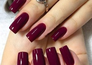 Inspiring Red Nail Style & Images for New Year 2021