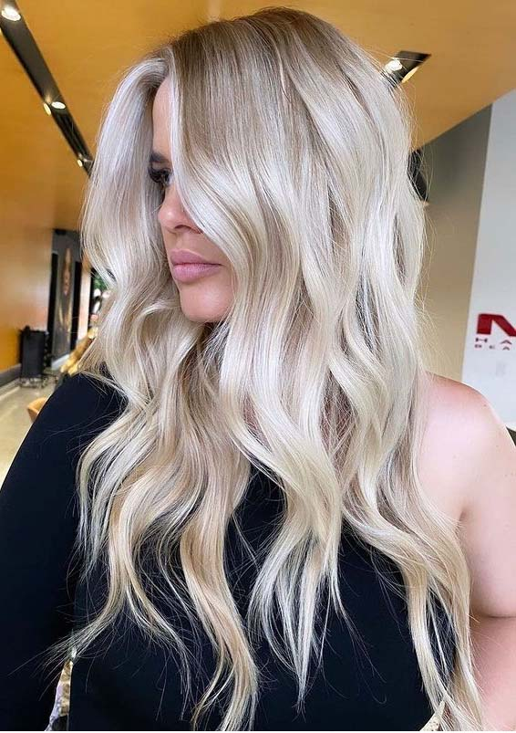Creamiest blonde Hair Color Ideas to Follow