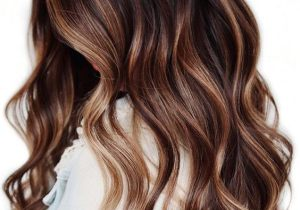 Gorgeous Lightened Brunette Hair Color for Long Hair