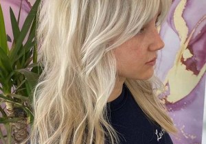 Face Framing Blonde Hair Styles for Long Hair