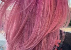 Gorgeous Pastel Pink Hair Color and Hair Styles