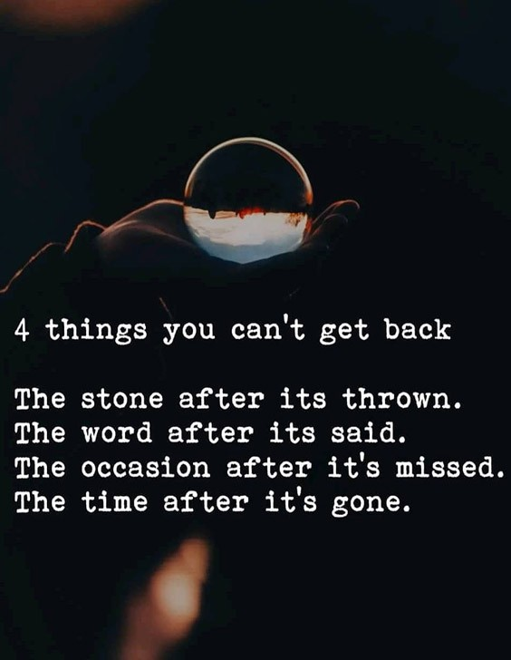 The Time After It's Gone - Inspiring Quotes 2021