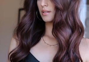 Raspberry Brown Hair Color Shades