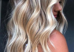 Gorgeous Blonde Hair Color Shades for Long Hair