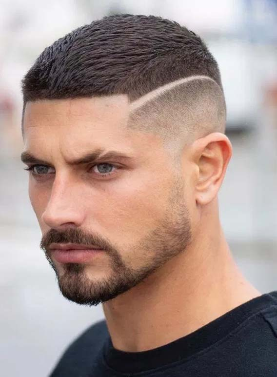 Buzz and Fade Haircut for Men