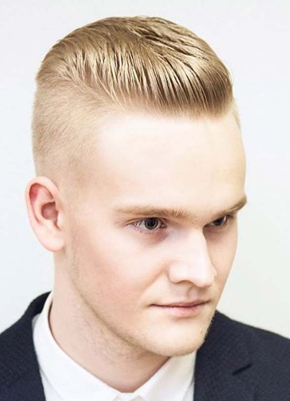 Blonde Military Men Hairstyles