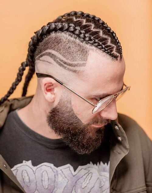 Two Braids for Men